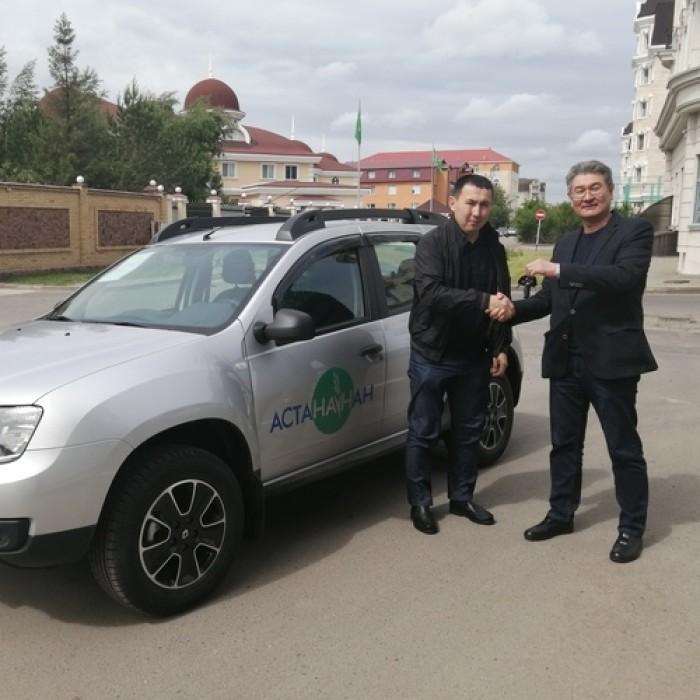 ТОО «Астана-нан» приобрело для своих региональных представителей новые автомобили